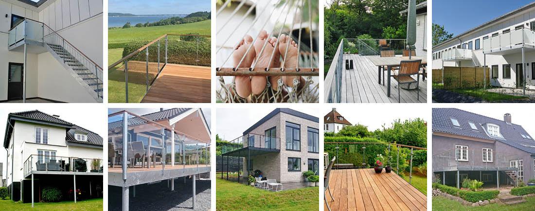FLEXaltan terrasser - collage